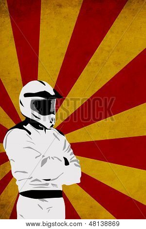 Motocross Or Quad Background