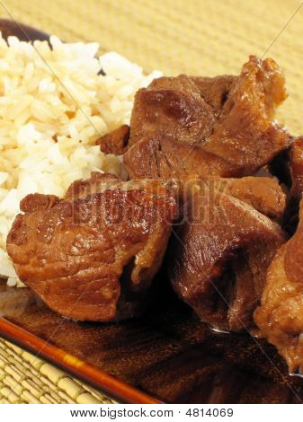 Pork Adobo With Rice