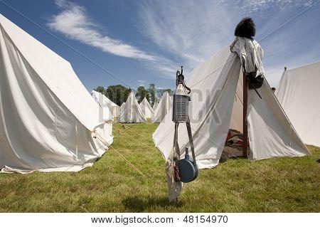 Revolutionary War or War of 1812 Tents