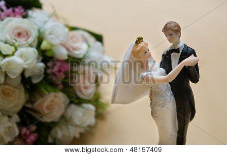 Wedding Cake Dolls