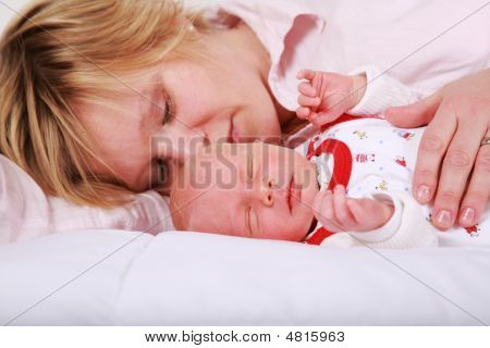 Lovely Newborn Sleeping