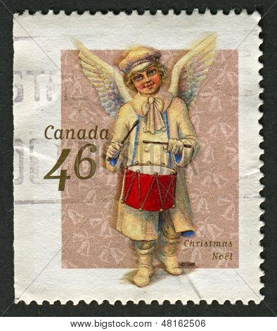 CANADA - CIRCA 1999: A stamp printed in Canada shows image of the Christmas Noel, circa 1999.