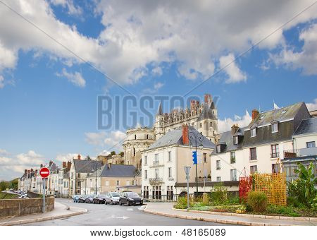 street in Amboise, France