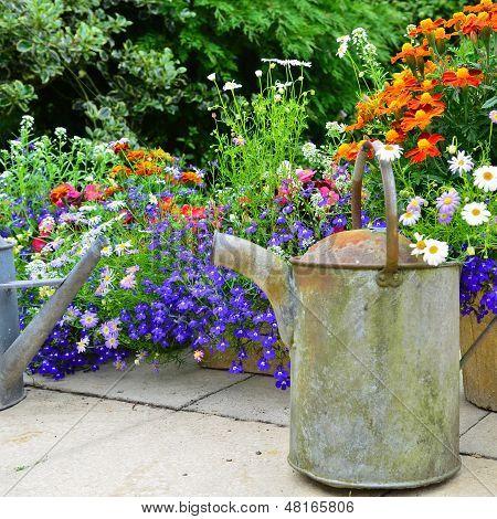 British rustic garden