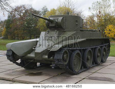 Wheel-track Tank Bt-5
