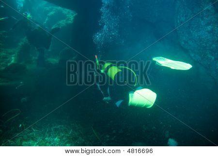 Cave Divers.