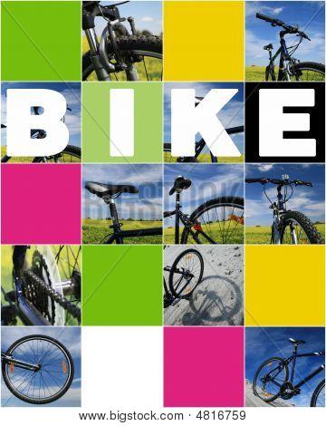 Collage de bicicleta