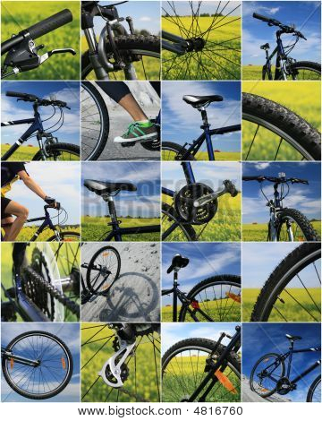 Bike Collage