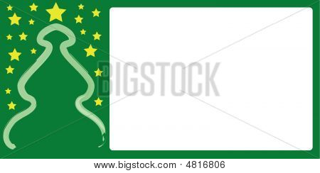 Christmas Card In Landscape Format