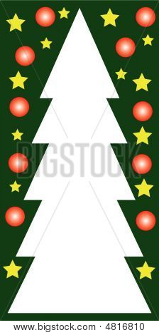 Colorful Christmas Card In Highsize Format
