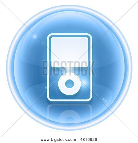 Mp3 Player Ice, Isolated On White Background