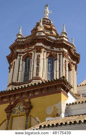 Cupola Of Santa Catalina Church