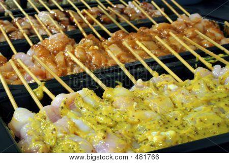 Flavoured Kebabs