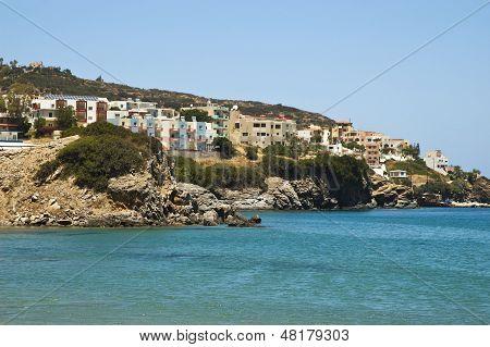 Tourist Resort In Crete Island