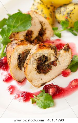 Chicken Breast Roulade