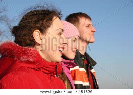Tres personas