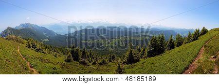 Region Of Entlebuch, Switzerland, Foothills Of The Alps