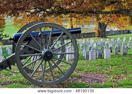 Gettysburg In Autumn