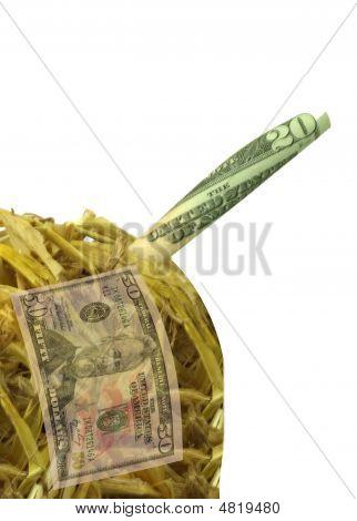 Money In A Haystack Vertical