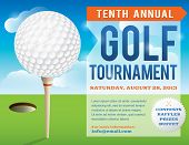 pic of subtraction  - Layered golf tournament invitation design - JPG