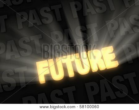 Bright Future Versus Dark Past