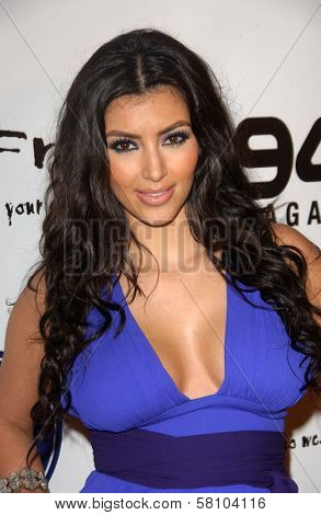 Kim Kardashian at the Debut of 2 B Free Spring 2008 Collection. Boulevard 3, Hollywood, CA. 10-14-07