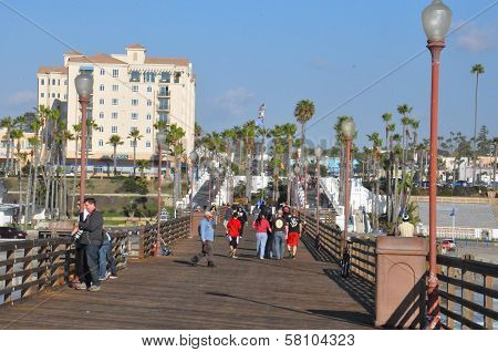Oceanside in Southern California, USA