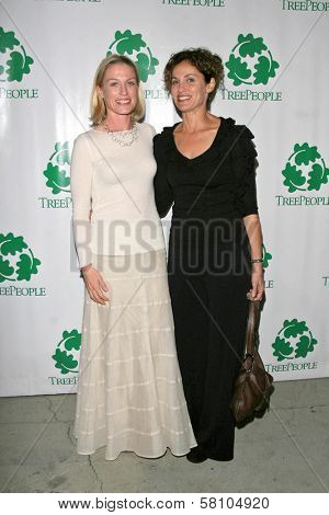 Jessica Tuck and Amy Brenneman at