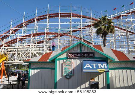 Belmont Park in California