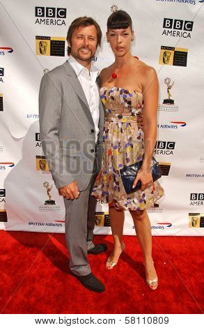 Grant Show and Pollyanna McIntosh at the 5th Annual BAFTA-LA Tea Party honoring Emmy Nominees. Wattles Mansion, Los Angeles, CA. 09-15-07