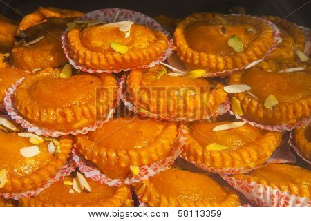 India Sweets Background