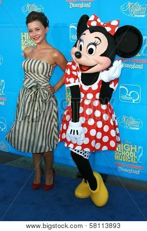 Olesya Rulin at the world premiere of Disney's