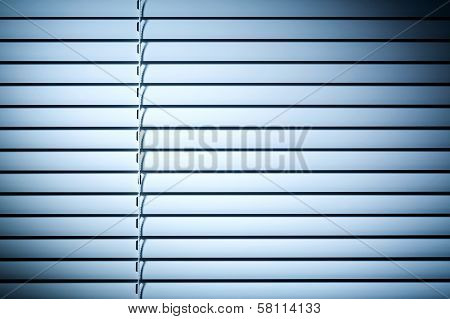 Closed Shutters At Night