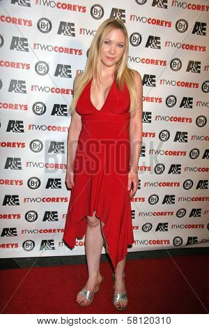 Cherie Adams at the A and E Premiere of