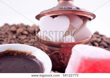 Valentine Heart Shaped Sugar