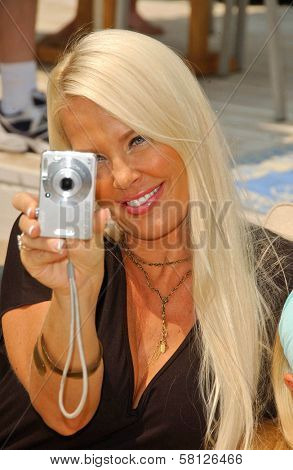 Genevieve Chappell at the Hot Moms Video Shoot for