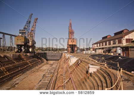 Abandoned Dry Dock