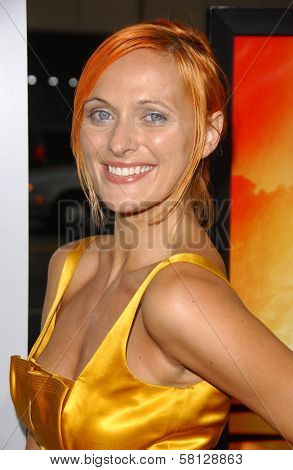 Dominika Wolski at the Los Angeles Premiere of