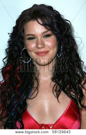 Joss Stone at the Wallop.Com Lounge Joss Stone Tour Kick-Off Party. Roosevelt Hotel, Hollywood, CA. 08-23-07