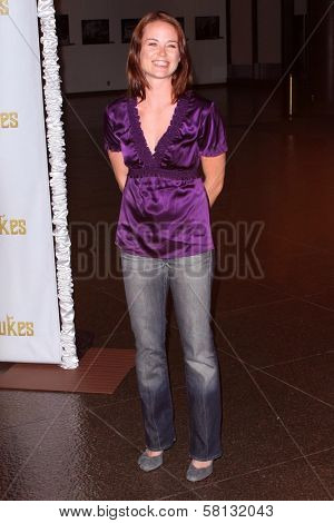 Sprague Grayden at the special screening of