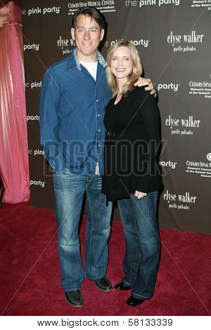 Courtney Thorne-Smith and husband Roger  at the 3rd Annual Pink Party benefiting Cedars-Sinai Women's Cancer Research Institute. Viceroy Hotel, Santa Monica, CA. 09-08-07