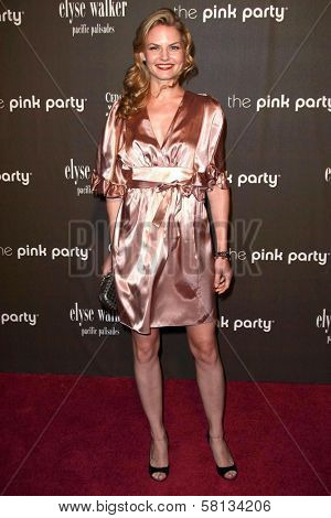 Jennifer Morrison at the 3rd Annual Pink Party benefiting Cedars-Sinai Women's Cancer Research Institute. Viceroy Hotel, Santa Monica, CA. 09-08-07