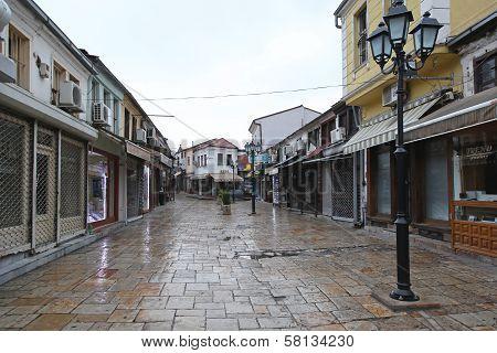 Bazaar Street Skopje