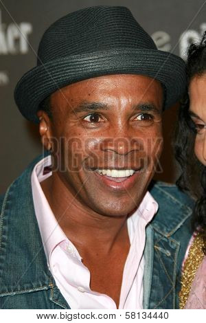 Sugar Ray Leonard at the 3rd Annual Pink Party benefiting Cedars-Sinai Women's Cancer Research Institute. Viceroy Hotel, Santa Monica, CA. 09-08-07