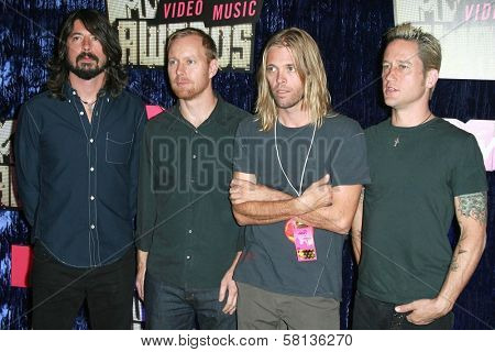 Foo Fighters arriving at the 2007 MTV Video Music Awards. The Palms Hotel And Casino, Las Vegas, NV. 09-09-07