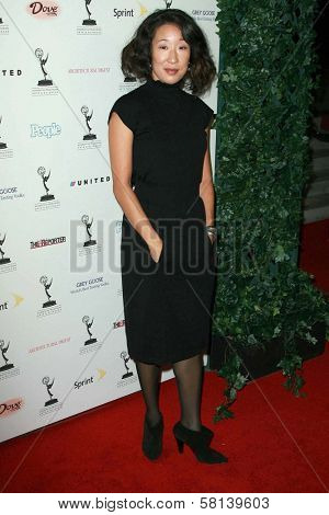 Sandra Oh at the 59th Annual Emmy Awards Nominee Reception. Pacific Design Center, Los Angeles, CA. 09-14-07