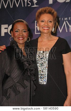Cicely Tyson and Leslie Uggams in the press room at the 59th Annual Primetime Emmy Awards. The Shrine Auditorium, Los Angeles, CA. 09-16-07