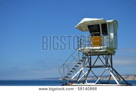 lifeguard tower at San Diego California