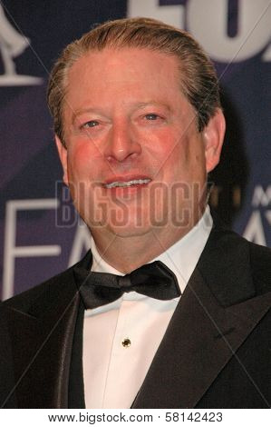 Al Gore in the press room at the 59th Annual Primetime Emmy Awards. The Shrine Auditorium, Los Angeles, CA. 09-16-07