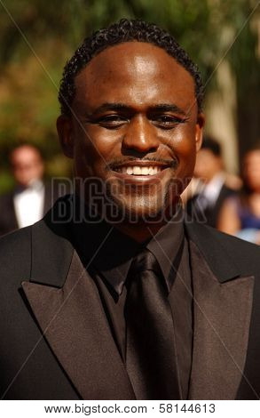 Wayne Brady  arriving at the 59th Annual Primetime Emmy Awards. The Shrine Auditorium, Los Angeles, CA. 09-16-07